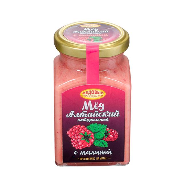 Алтайский мёд с малиной