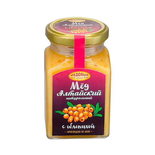 Алтайский мёд с облепихой