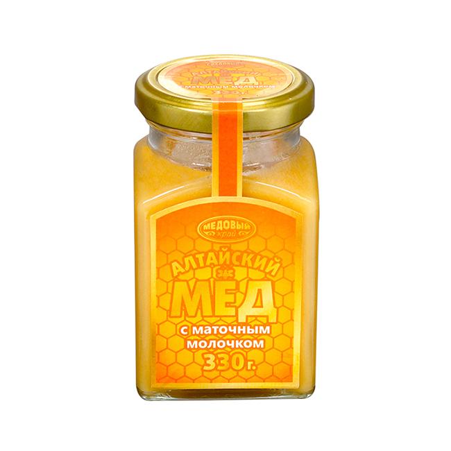 Алтайский мёд с маточным молочком