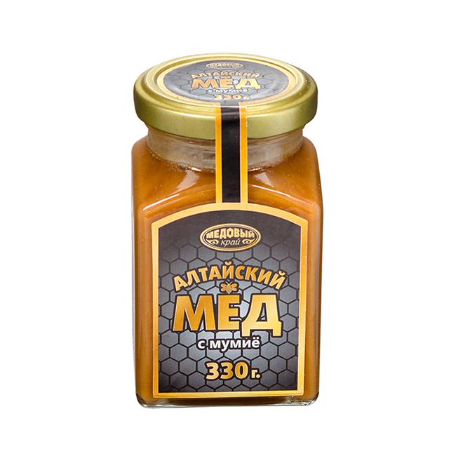 Алтайский мёд с мумие