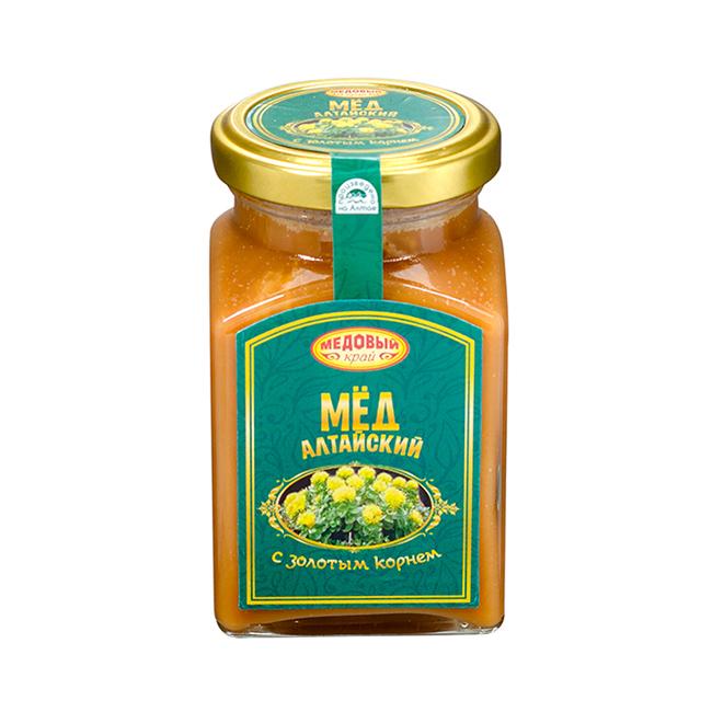Алтайский мёд с золотым корнем