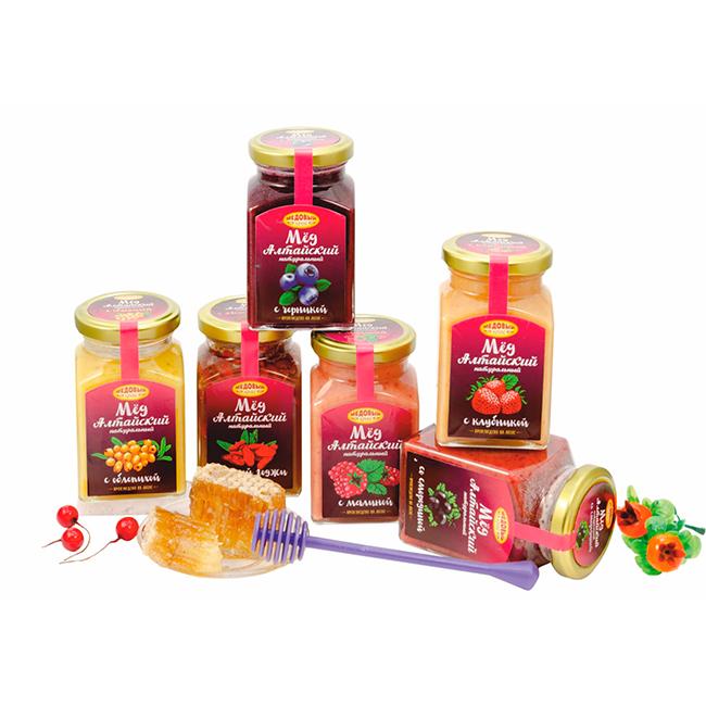 Медовые композиции с ягодами
