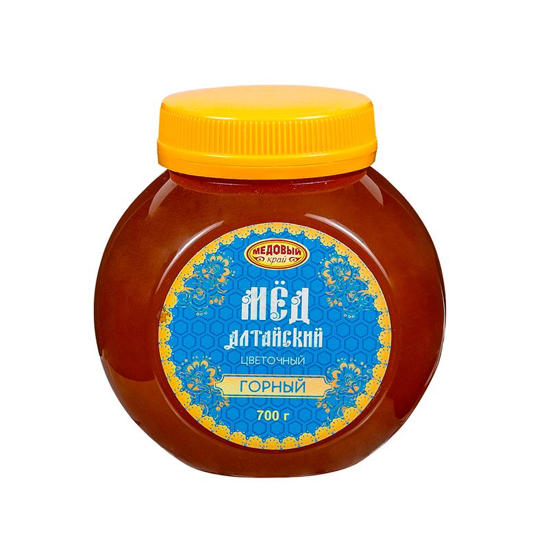 ГОРНЫЙ, Алтайский мёд натуральный цветочный.