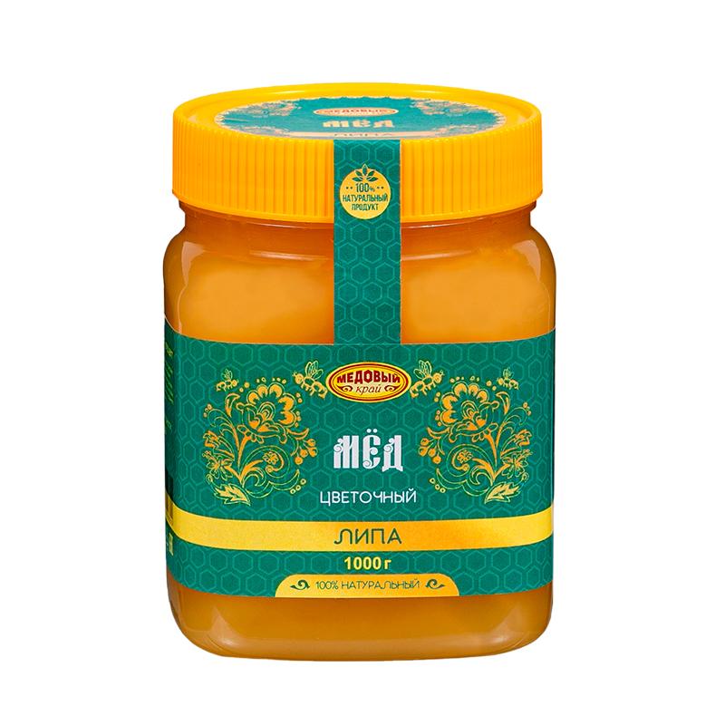 ЛИПОВЫЙ, Мёд натуральный цветочный.