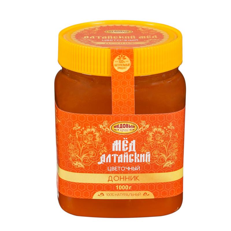 ДОННИК, Алтайский мёд натуральный цветочный.