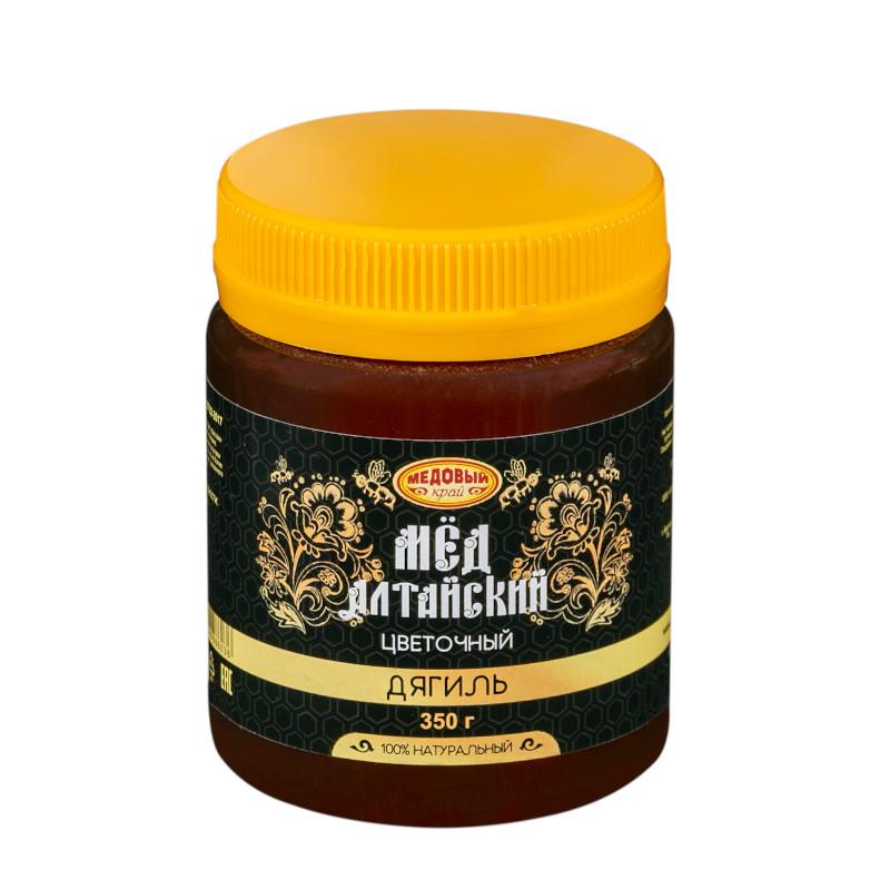 ДЯГИЛЬ, Алтайский мёд натуральный цветочный.