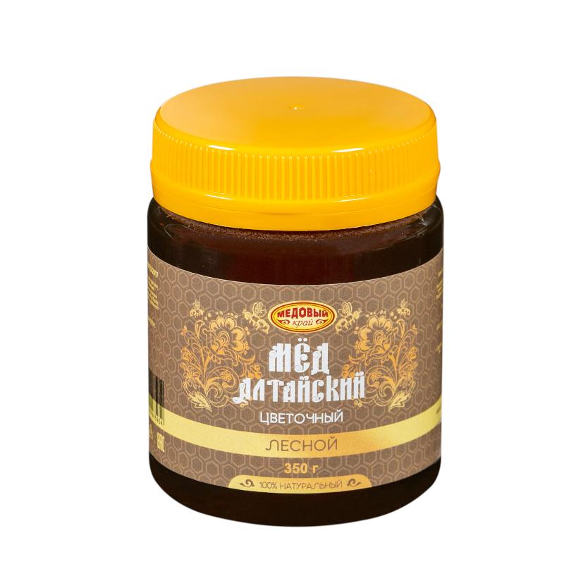ЛЕСНОЙ, Алтайский мёд натуральный цветочный.