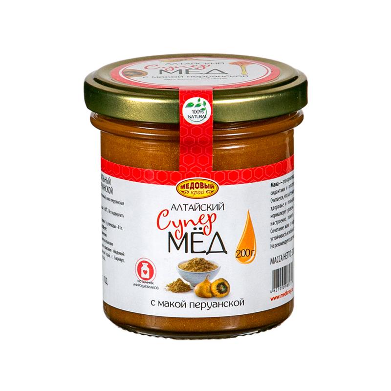 Алтайский мёд с макой перуанской